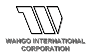 WAHGO INTERNATIONAL CORPORATION