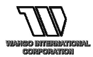WAHGO INTERNATIONAL CORPORATION