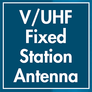VHF/UHF FIXED STATION ANTENNA
